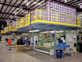 Textile Equipment Mezzanine