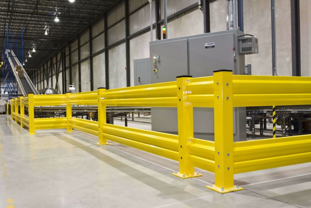 Barrier rails and forklift safety barriers kabtech corp