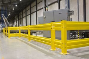 conveyor barrier