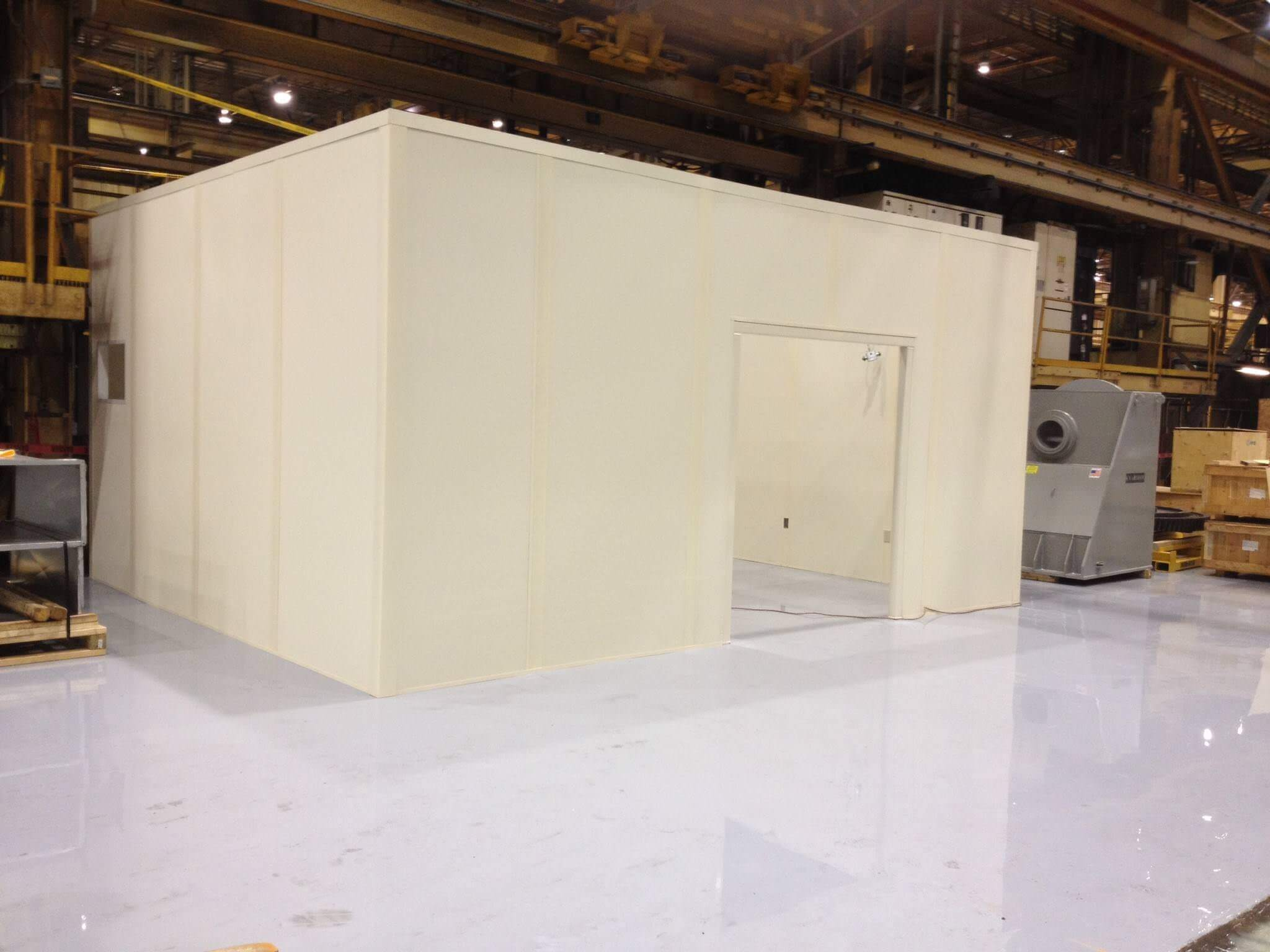 Quality Control and Inspection Rooms, Modular In-Plant Offices ...