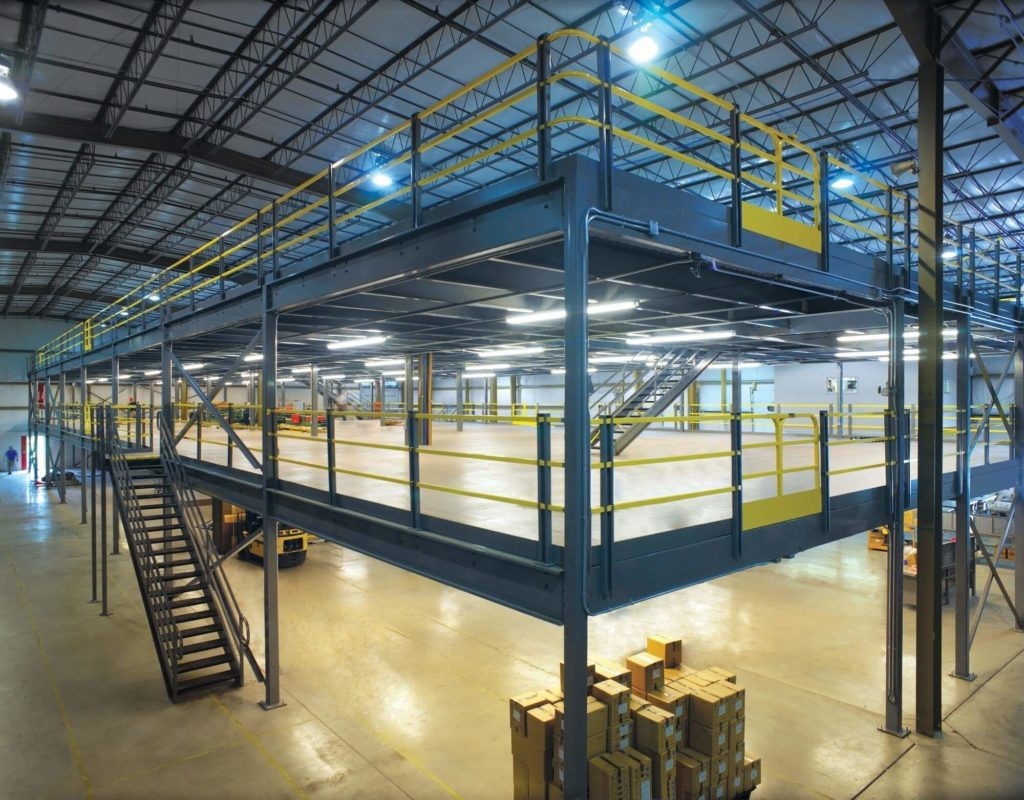 Ultimate guide to warehouse mezzanines kabtech corp - Foto mezzanine ...