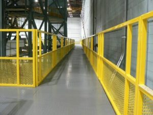 Cat-Walk steel floor