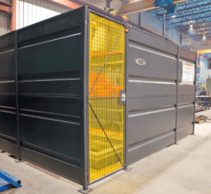 Machinery safety enclosure